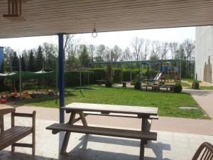 Außenspielbereich des Kindergartens (Foto: Privat)